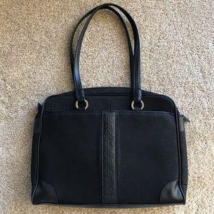 LIZ CLAIBORNE Black Laptop/Tablet/Briefcase Bag